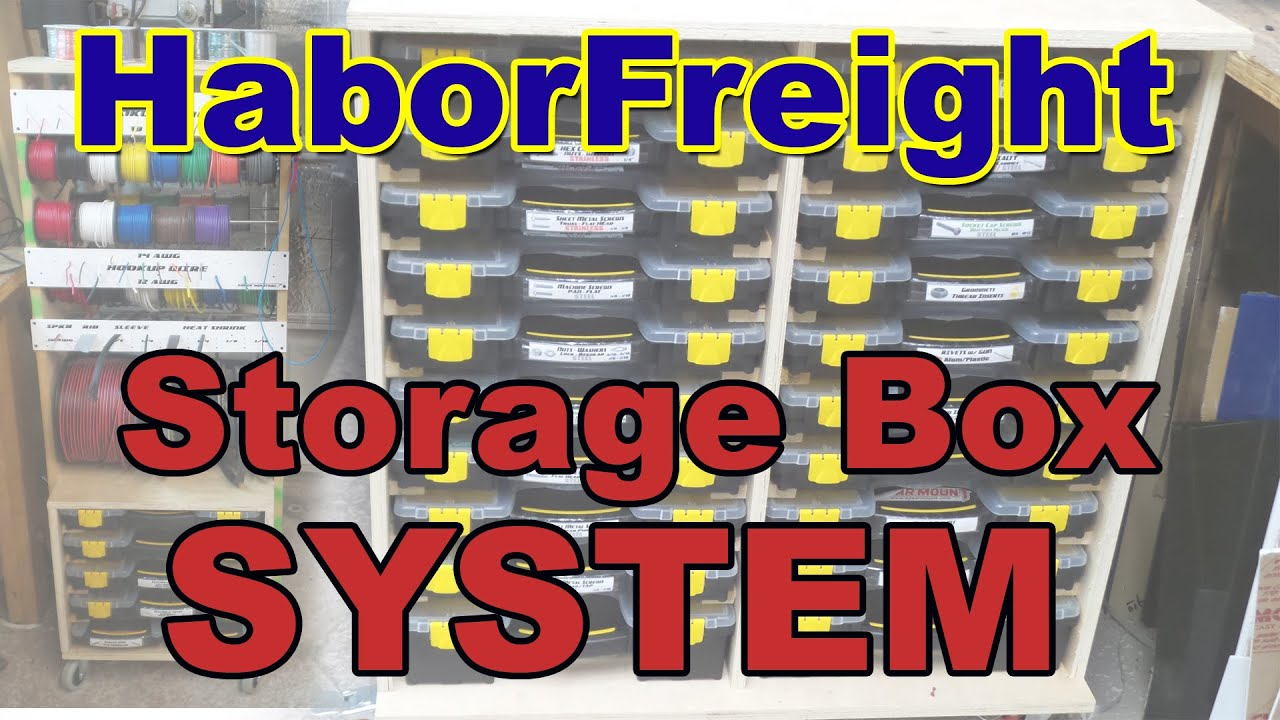 Hardware And Hook Up Wire System Harbor Freight Youtube