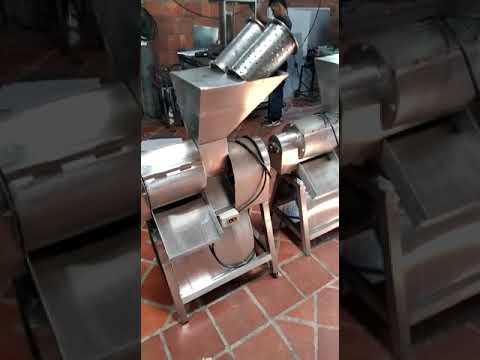 Máquina Despulpadora de Fruta | Maquinaria Industrial en Acero