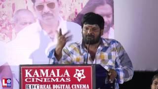 Comedy Actor Ganja Karuppu Speech at Sarithiram Pesu Movie Audio Launch Video | HD |