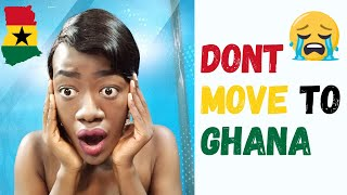 My Dad was against my relocation to Ghana I almost didn39t move to Ghana