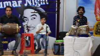 Kishore Kumar  Night Jaipur Performance  JSMV Students