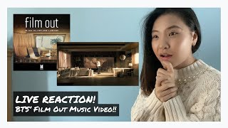 BTS - Film Out Music Video: Live Reaction! Watch with Me!