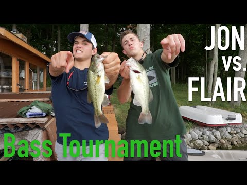 1v1 bass fishing tournament andrew flair vs jon b for Jon b fishing