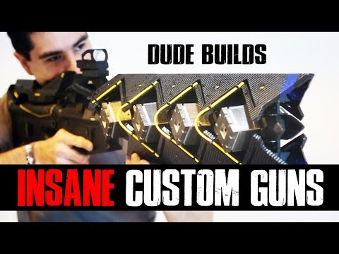 INSANE custom Halo / Destiny Airsoft Guns