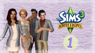 Let's Play: The Sims 3 Ambitions- (Part 1) Kick Off