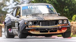 Mazda RX-3 Savanna GT Widebody || ONBOARD Classic Rotary