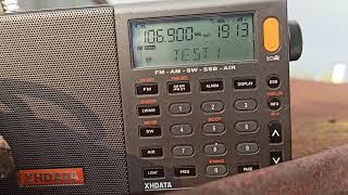 Недоработанный RDS на Таван Радио в Батырево 106.9 МГц.