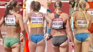 Female Pole Vaultor compilation 01, why jumpers tend to be beautiful?