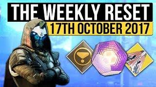 Destiny 2 | WEEKLY RESET! - Prestige Raid, Powerful Engrams, Nightfall & Vendor Reset (17th October)