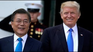 Trump at odds with S. Korean president, except on N. Korea