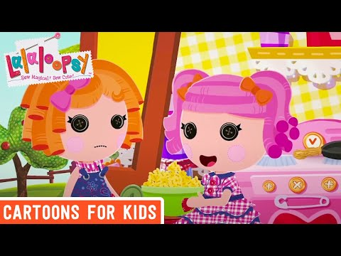 Sunny Side Up and Berry Jars 'N' Jam | Sewn On Date | We're Lalaloopsy | Now Streaming on Netflix!