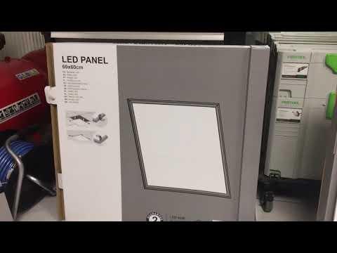 Installation Eclairage Panneau Led Leroy Merlin Premier Prix