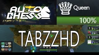 DOTA AUTO CHESS - 6 ASSASSINS COMBO / QUEEN GAMEPLAY WITH ENGLISH COMMENTARY