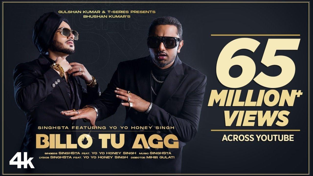 Download Billo Tu Agg – Yo Yo Honey Singh Mp3 New Song 2020