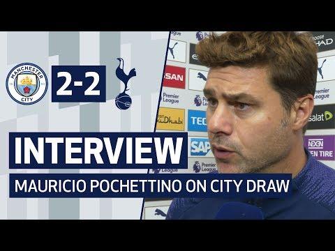 INTERVIEW | MAURICIO POCHETTINO ON MAN CITY DRAW | Man City 2-2 Spurs