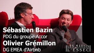 Accor vs Airbnb - S. Bazin et O. Grémillon aux Mardis de l'ESSEC