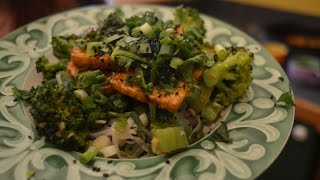Crispy Tofu, Rice Noodles, And Chinese Style Broccoli - Episode 28 - Reveena's Kitchen