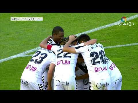 Golazo de Quim Araujo (2-1) Albacete Balompié vs Real Oviedo