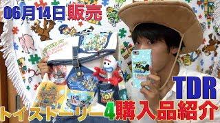 【予算15000円】東京ディズニーリゾートとトイストーリー4のコラボ商品!ファンタイムウィズトイストーリー4購入品紹介