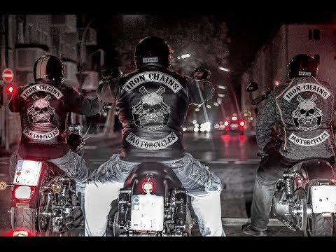 Iron Chains Outlaw Biker take a ride