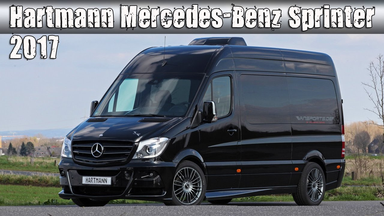 8fd031b29f6360 2017 Mercedes-Benz Sprinter 316 CDI Kombi Tuned By Hartmann VanSports