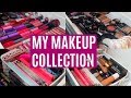 MY MAKEUP COLLECTION & STORAGE 2017 | AFORALEXIS