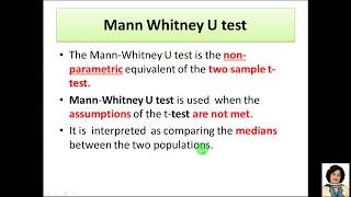 3. Mann-Whitney U test|Non parametric test with MS Excel