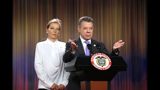 Colombianos, este premio es de ustedes: Santos