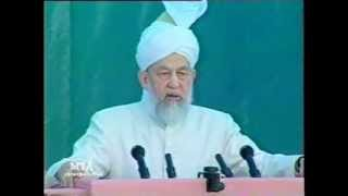 Inaugural Address, Jalsa Salana 31 July 1998