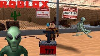 Entering Area 51 - Roblox - JULINWORLD 15