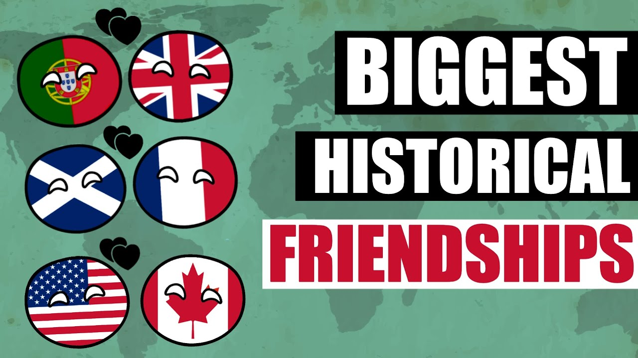 Biggest Country Friendships in the World