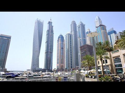 Dubai Marina Drive| Driving around Dubai marina | Dubai UAE