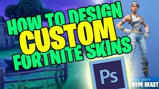 HOW TO DESIGN YOUR OWN CUSTOM *HYPEBEAST* SKIN IN FORTNITE