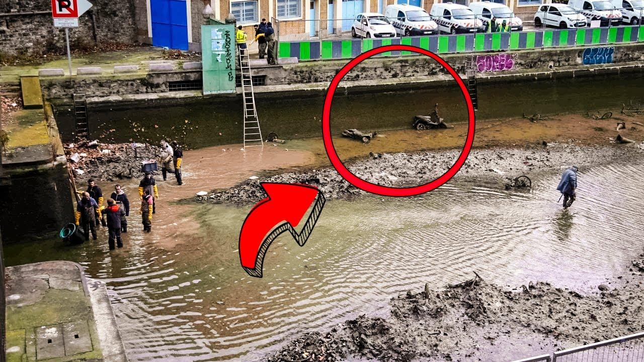 Этот Канал Осушили Впервые за Долгие Годы, и Вот Что Там Нашли
