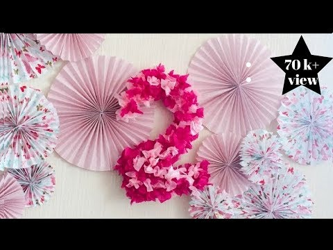 cheap and easy  diy paper backdrop