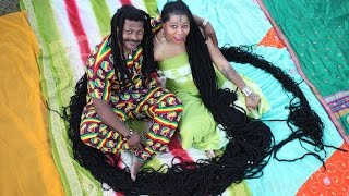 Newly Dreads: Woman With World's Longest Dreadlocks Weds Her Hairstylist