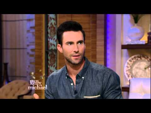 Adam Levine on LIVE with Kelly and Michael