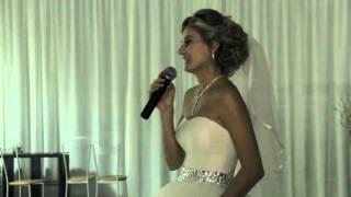 Слова невесты на свадьбе.