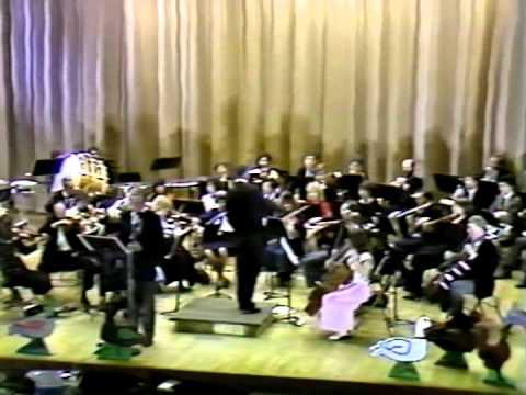 TTU Symphony Orchestra, 1984 Public TV Concert -- Stephen Clark, Principal Clarinet (6 min. excerpt)