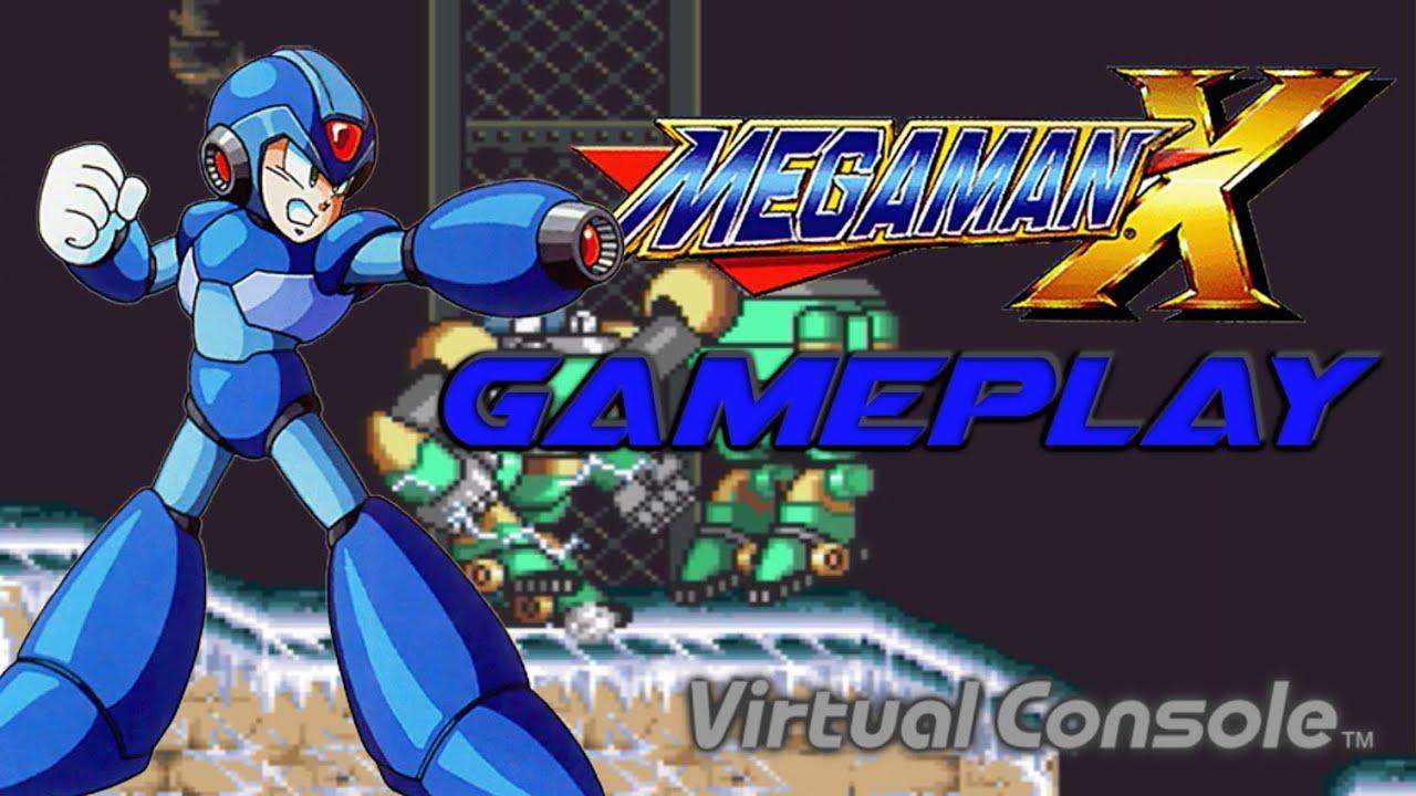 Megaman x gameplay wii u virtual console hd 60fps youtube - Megaman x virtual console ...