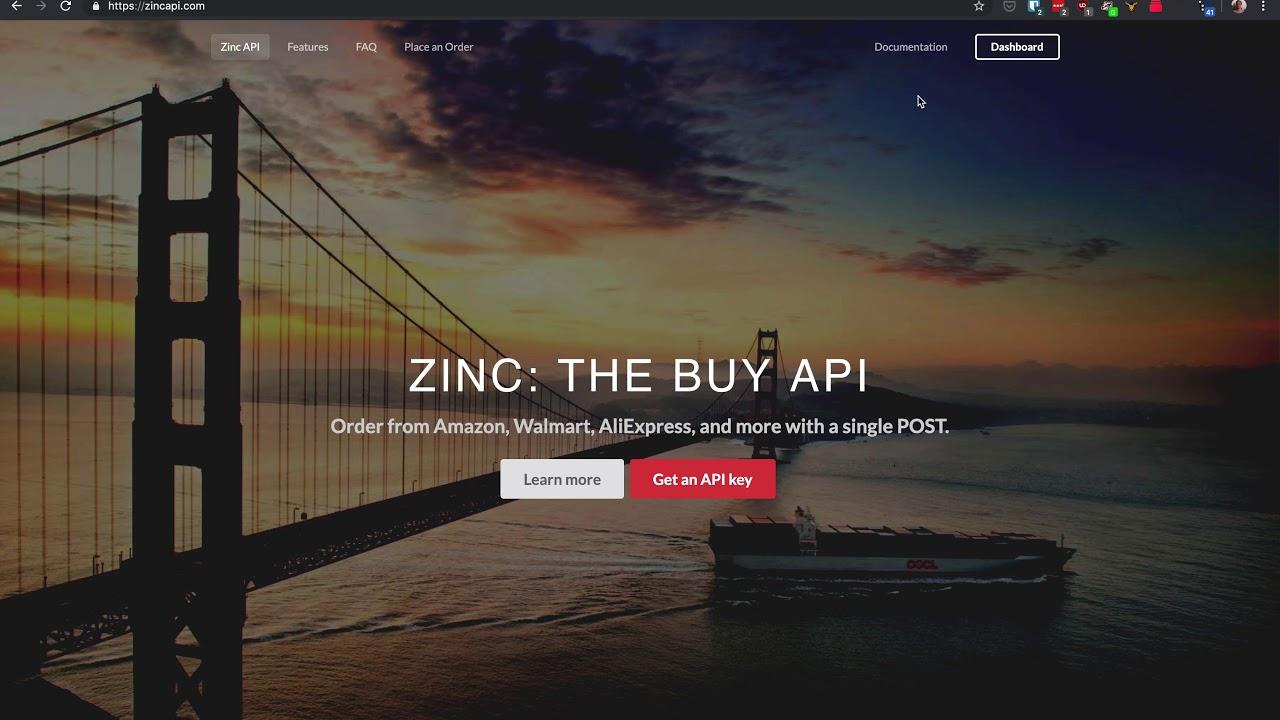 Zinc API