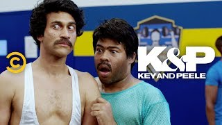Karim and Jahar Scope Out the Gym - Key & Peele