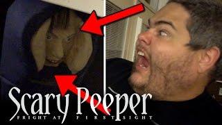 THE SCARY PEEPER PRANK!!