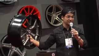 2012 V8TV SEMA VIDEO COVERAGE - HRE RINGBROTHERS & CARBON FIBER CF2 WHEELS