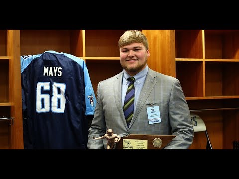 Mays recaps Mr. Football, looks ahead at state final