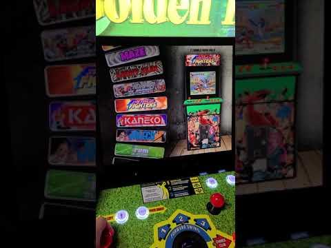 arcade 1up golden tee upgrade 2400 games from J M Arcades