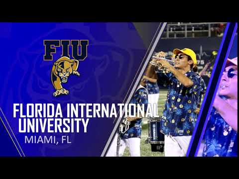 Flo Marching Animation FIU 10 19  Halftime HD