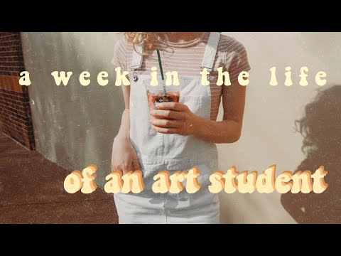a week in the life of an art student || MTSU 2019