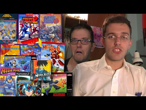 MEGA MAN Games (DOS, PS1, PS2) Angry Video Game Nerd: Episode 139