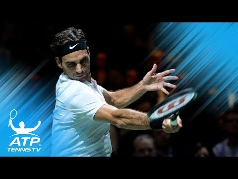 Federer breezes, Dimitrov battles, Seppi stuns | Rotterdam 2018 Highlights Day 3